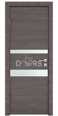 Дверь межкомнатная DO-512 Ольха темная/Снег