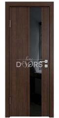 ШИ дверь DO-604 Мокко/стекло Черное