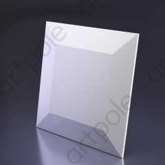 Гипсовая 3D панель CHOCO 500x500x32 мм