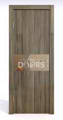 ШИ дверь DO-601 Сосна глянец/зеркало Бронза