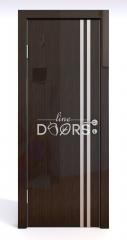 ШИ дверь DG-606 Венге глянец