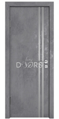 ШИ дверь DG-606 Бетон темный