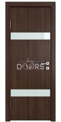 Дверь межкомнатная DO-502 Мокко/стекло Белое