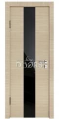 Дверь межкомнатная DO-510 Неаполь/стекло Черное