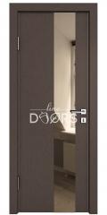 ШИ дверь DO-604 Бронза/зеркало Бронза