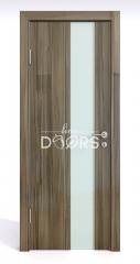 Дверь межкомнатная DO-504 Сосна глянец/стекло Белое