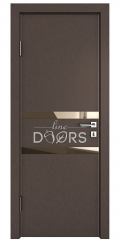 ШИ дверь DO-613 Бронза/зеркало Бронза