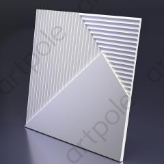 Гипсовая 3D панель FIELDS 4 600x600x23 мм