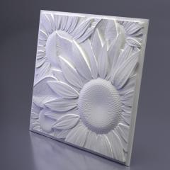 Гипсовое панно Sunflower 500x500x32 мм