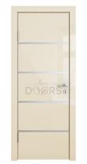 Дверь межкомнатная DG-505 Ваниль глянец
