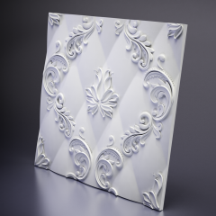 Гипсовая 3D панель MARSEILLE 600x600x26 мм