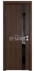 ШИ дверь DO-607 Мокко/стекло Черное