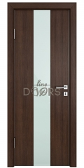 ШИ дверь DO-610 Мокко/стекло Белое