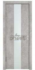 ШИ дверь DO-610 Бетон светлый/Снег