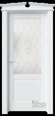 Межкомнатная дверь Sonata S4 Enamel Полярный Белое ст. 3