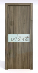 Дверь межкомнатная DO-509 Сосна глянец/стекло Белое