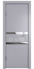 ШИ дверь DO-613 Металлик/Зеркало