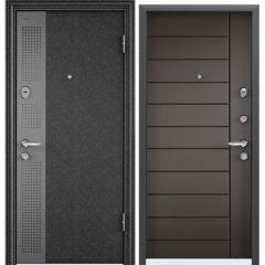 Дверь TOREX SUPER OMEGA 08 Черный шелк SP-11G / Молочный шоколад