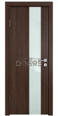 Дверь межкомнатная DO-504 Мокко/стекло Белое
