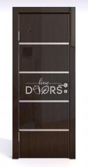 Дверь межкомнатная DG-505 Венге глянец