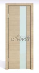 Дверь межкомнатная DO-504 Неаполь/стекло Белое
