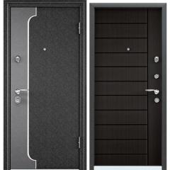Дверь TOREX SUPER OMEGA 10 MAX Черный шелк / Венге