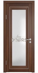 Дверь межкомнатная DO-PG6 Орех тисненый/Ромб
