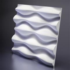 Гипсовая 3D панель Drop 600x600x40 мм