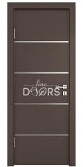 Дверь межкомнатная DG-505 Бронза