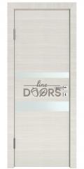 Дверь межкомнатная DO-512 Ива светлая/Снег
