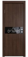 Дверь межкомнатная DO-509 Мокко/стекло Черное