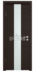 Дверь межкомнатная DO-510 Венге горизонтальный/Снег