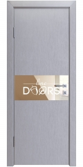 Дверь межкомнатная DO-501 Металлик/зеркало Бронза