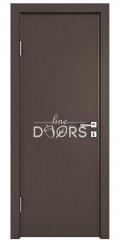 Дверь межкомнатная DG-500 Бронза
