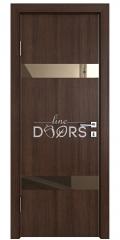 ШИ дверь DO-602 Мокко/зеркало Бронза
