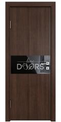 ШИ дверь DO-601 Мокко/стекло Черное