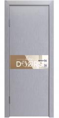 Дверь межкомнатная DO-509 Металлик/зеркало Бронза