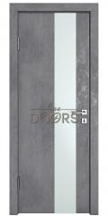 ШИ дверь DO-604 Бетон темный/Снег