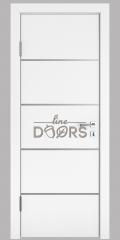 ШИ дверь DG-605 Белый бархат