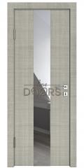 ШИ дверь DO-610 Серый дуб/Зеркало