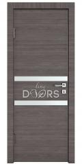 Дверь межкомнатная DO-513 Ольха темная/Снег