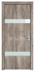 Дверь межкомнатная TL-DO-502 Кипарис/стекло Белое