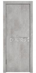 Дверь межкомнатная DG-500 Бетон светлый