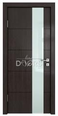 Дверь межкомнатная TL-DO-504 Акация/стекло Белое