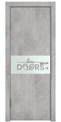 Дверь межкомнатная DO-501 Бетон светлый/Снег