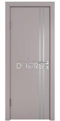 ШИ дверь DG-606 Серый бархат