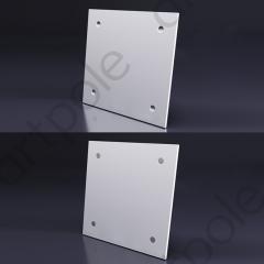 Гипсовая 3D панель LOFT TECHNO 600x600x16 мм