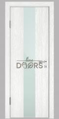 ШИ дверь DO-610 Белый глубокий/стекло Белое