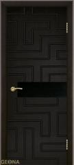 Дверь Geona Doors Лабиринт с фрезеровкой