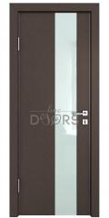 Дверь межкомнатная DO-504 Бронза/стекло Белое